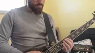 LAMB OF GOD - Hourglass guitar tutorial