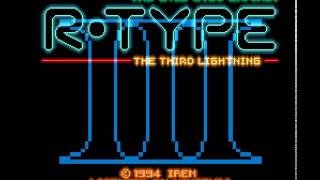 R-Type III: The Third Lightning (SNES) Stage 1 Clear (HD60)
