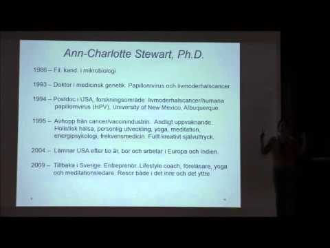 Friskare utan vaccin? Ann-Charlotte Stewart Del 1