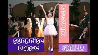 Video El Mejor Baile Sorpresa  Emilia Quince | Quince Surprise Dance download MP3, 3GP, MP4, WEBM, AVI, FLV Agustus 2018