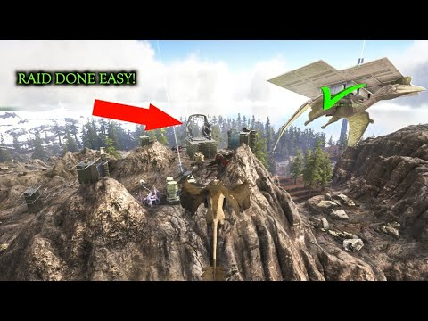JUICIEST RAID EVER IN THE EASIEST WAY EVER! ARK Survival Evolved Unofficial Servers