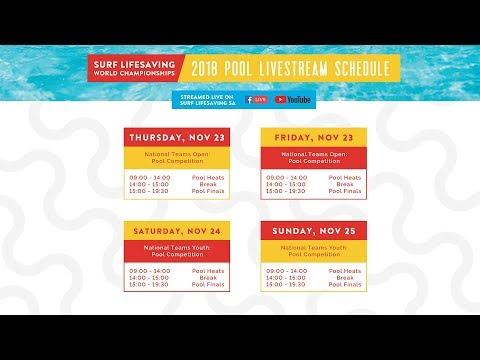 LWC2018 - Pool Live Stream Day 1