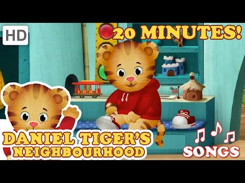 Daniel Tiger - Song Compilation (20 Minutes)