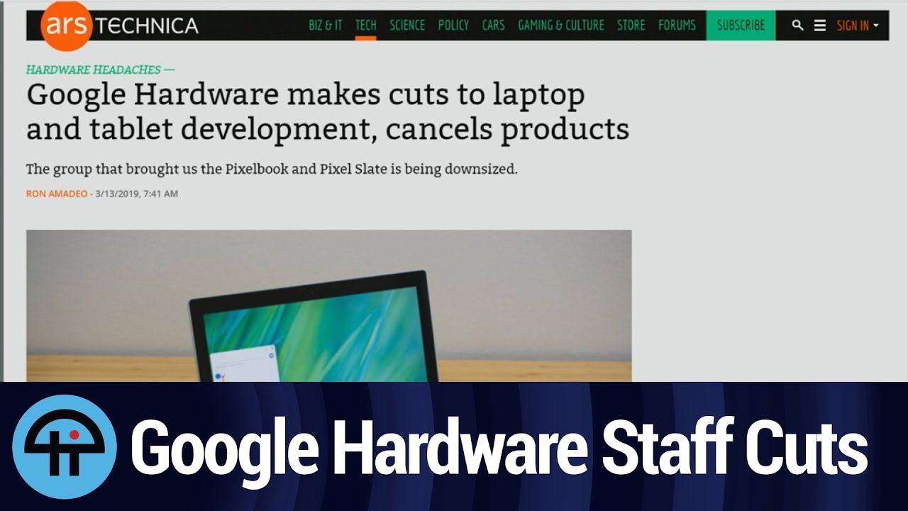 Google Cuts Staff in Hardware Division