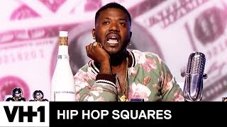 Ray J's New CBD Business & More | Hip Hop Squares