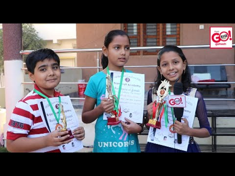 Glb   Bright Kids Abacus Students, Competition In Mumbai (Old Panvel)
