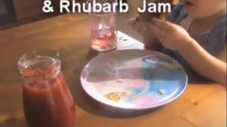 Homemade Rhubarb & Strawberry Jam - Myvirginkitchen