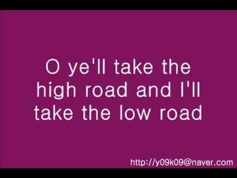 You take the high road irish