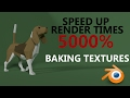 Speed up render times 5000% | baking tex