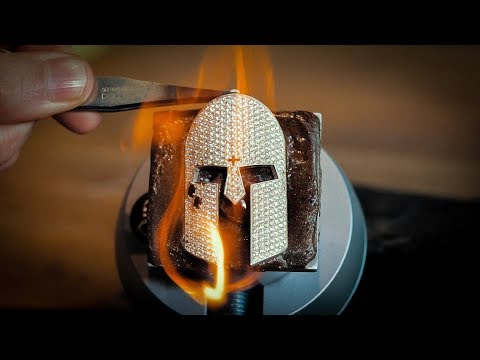 Making A Men's Diamond Pendant with Custom Teardrop Design thumbnail