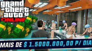 GTA V ONLINE - 1.500.000,00 P/ DIA HONESTAMENTE C/ A FÁBRICA DE COCAINA - TUTORIAL PARTE #1