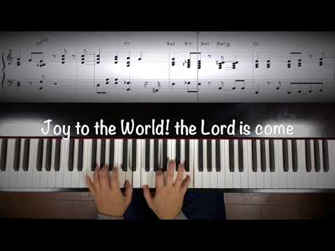 "Jazz Piano ""Joy to the World! the Lord is come"""