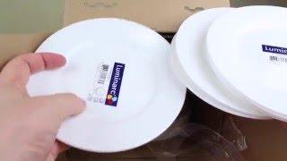 видео Тарелки luminarc