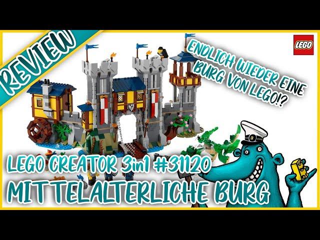 Endlich eine Burg von LEGO. Aber warum diese? Was die mittelalterliche Burg (#31120) falsch macht.