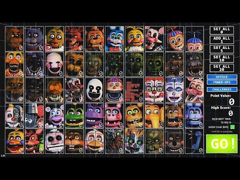 FNAF THE ULTIMATE CUSTOM NIGHT DEMO....GET READY FOR...SOMETHING!!