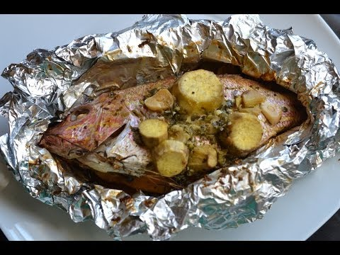 Foil Roasted Fish