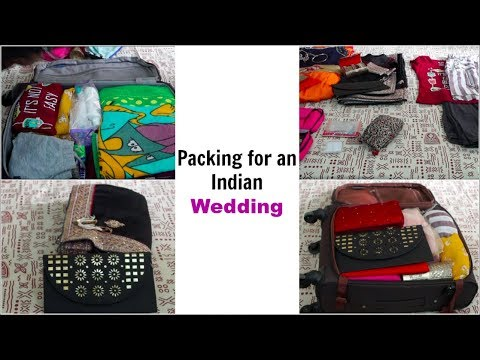 Packing for an Indian Wedding | Pack for 3 Members in 1 Bag | Organizopedia