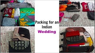 Packing for an Indian Wedding   Pack for 3 Members in 1 Bag   Organizopedia