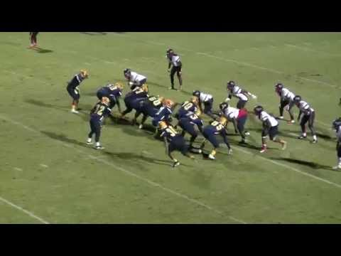 Rocky Mount High School Gryphons Football - Game Highlights vs. Southern Nash HS - 10/30/15