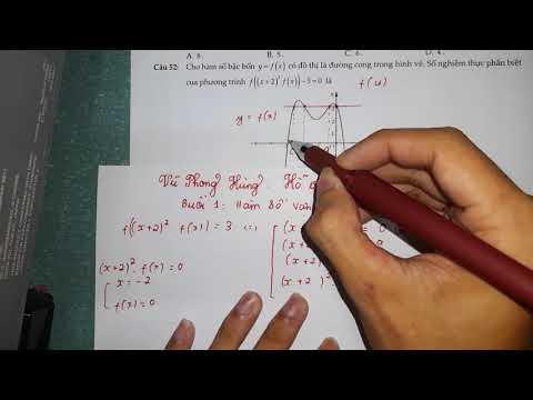 Vận Dụng Cao Hàm Số Và Phương Pháp Chung ( Dành riêng cho các em 2k3 )