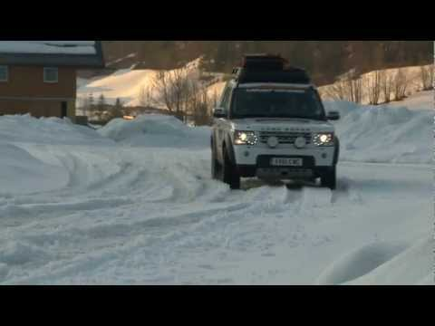 Land Rover Journey of Discovery: Snow and Ice Driving - 1 of 9