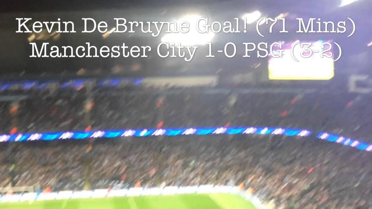 Manchester City Fans vs PSG 12/04/16