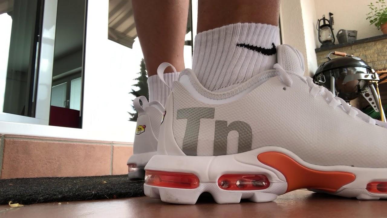 Unboxing white Nike TN 1 Ultra - YouTube