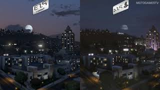 GTA V Online - PlayStation 3 vs PlayStation 4 - Graphics Comparison