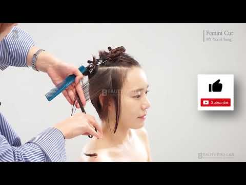Cắt tóc ngắn Hàn Quốc Hair korea