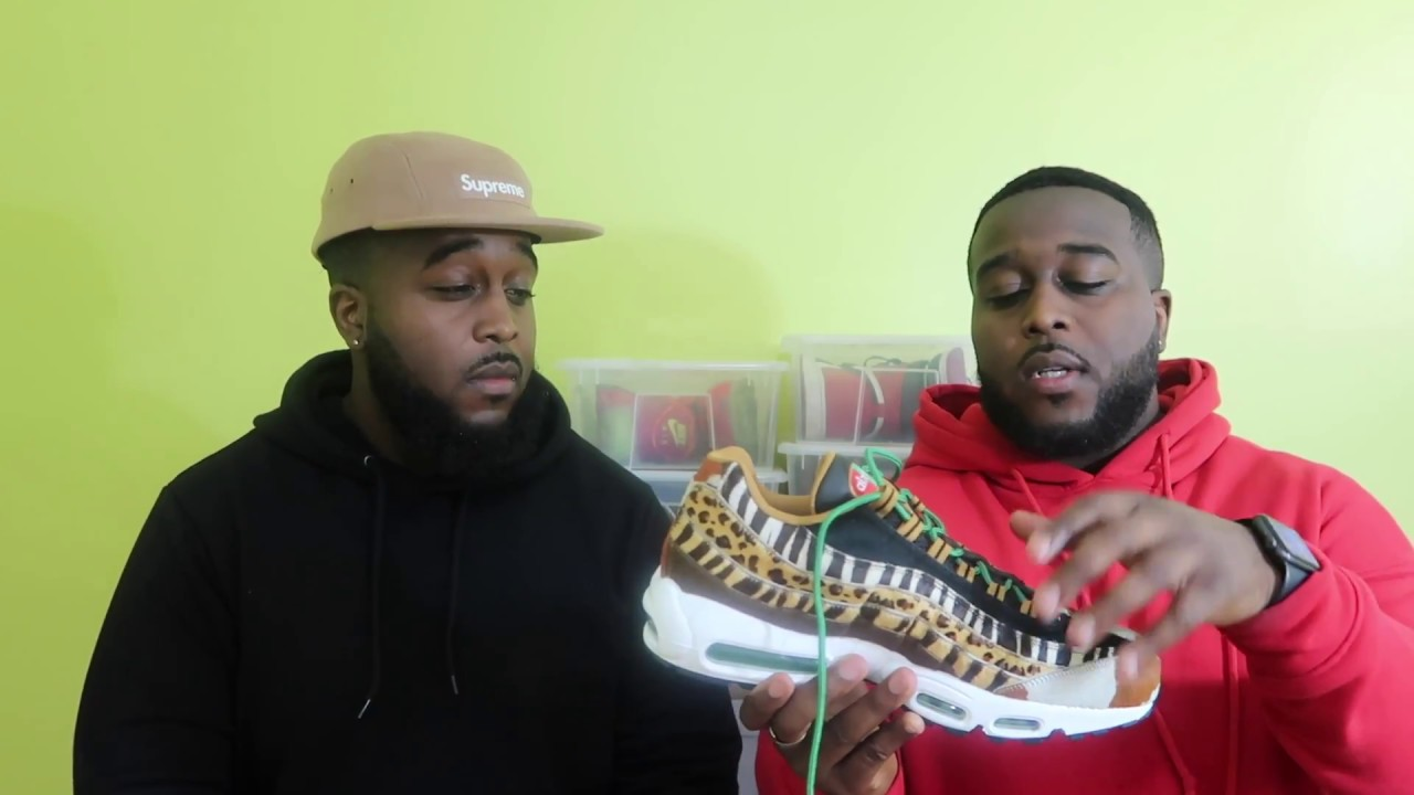 Nike Atmos Animal Pack Air Max 95 ON Foot Review!!