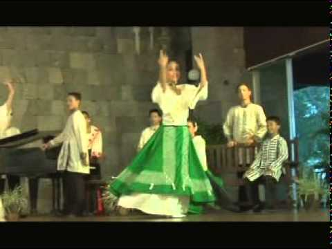 PANDANGGO RINCONADA : Philippine Christmas Folk Dance from Nabua, Camarines Sur