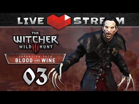 WITCHER 3 Blood and Wine Walkthrough PART 3 | 💀 Death March, NG+