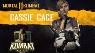 Kombat Kast (Episode 4) Cassie Cage & Kano Walk Through