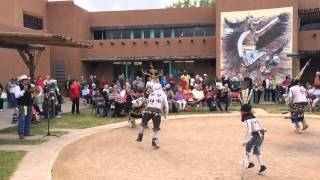 White Mountain Apache Crown Dancers at the Indian Pueblo Cultural Center