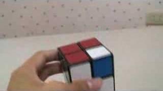 2乘2乘2魔術方塊簡易解法教學