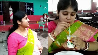 Bengali Vlog # আমার বাপের বাড়ি যাওয়া | সঙ্গে লস্যি আর ড্রাই চিলি চিকেন | Visiting Parents' House