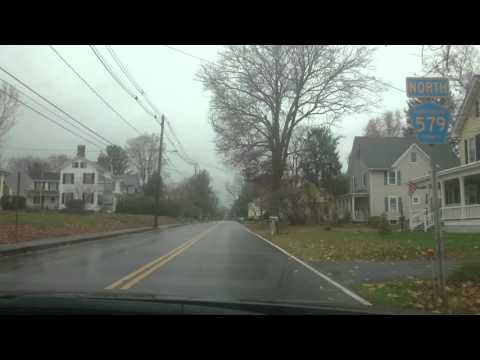 Pennsylvania roads, USA