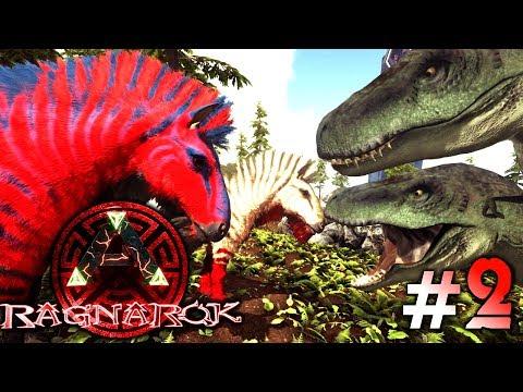 ARK: Ragnarok #2 - Unsere kleine Farm, Equus zähmen & der Appalachiosaurus! | LP Ark Deutsch