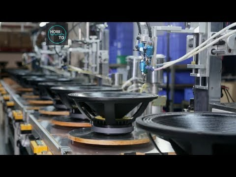 Making Of Speakers - Factory Tour #PART1 | How To Machines