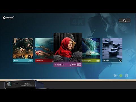 Xtreamer Prodigy 4k GUI Tour & Demo By Intellibeam.com