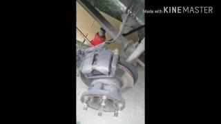 Ремонт самоторможение дисков и замена тормозных калодок