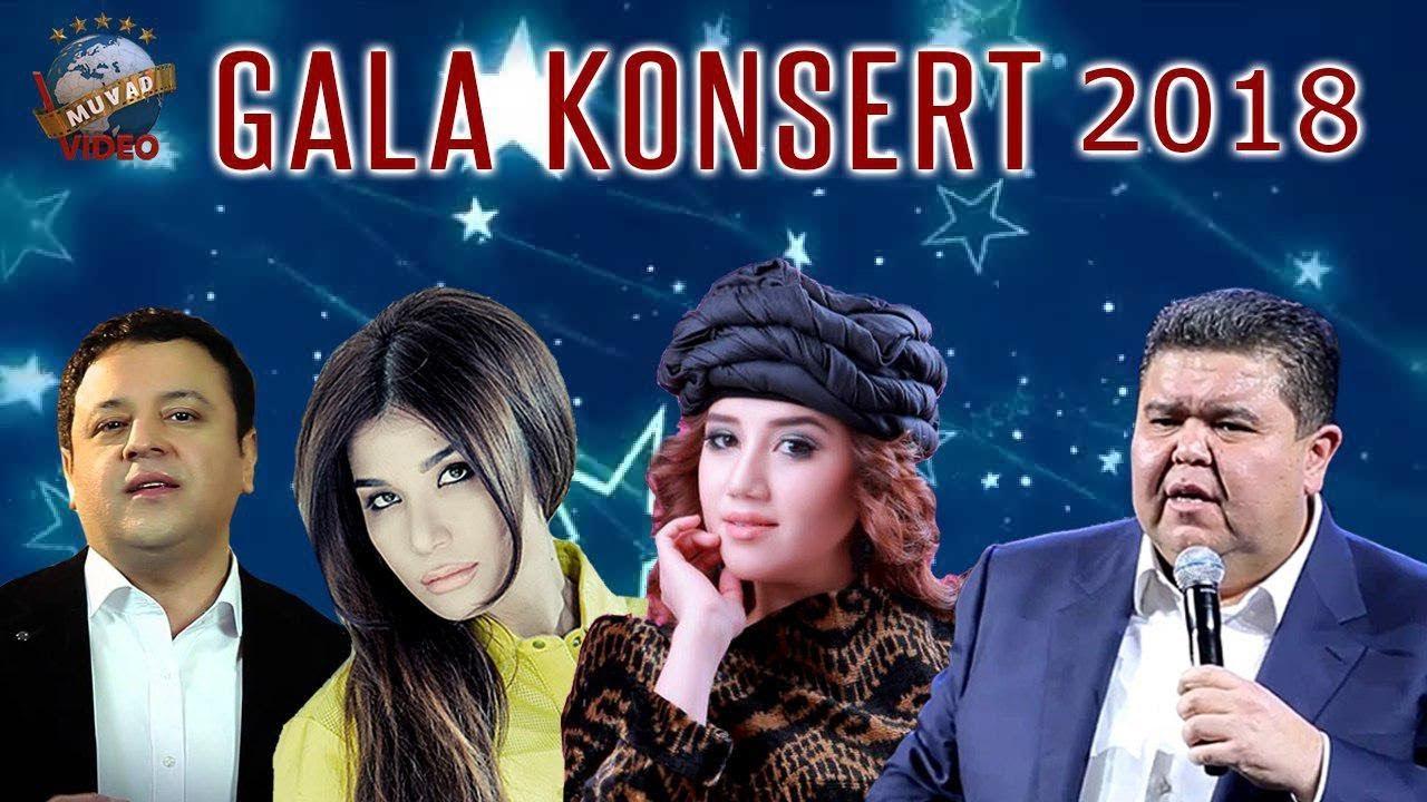 Gala konsert 2018 Manzura, Dilsoz, Shukurlo Isroilov, Ulug'bek Otajonov.