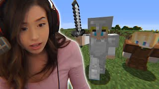 I Spoke To Pokimane in Minecraft...