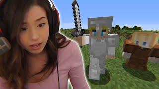 I Spoke To Pokimane in Minecraft...