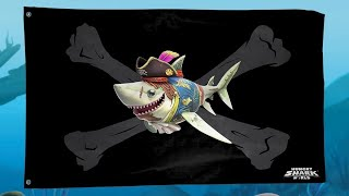 Pirate 🏴☠️ Jolly Roger 🏴☠️! - Hungry Shark World