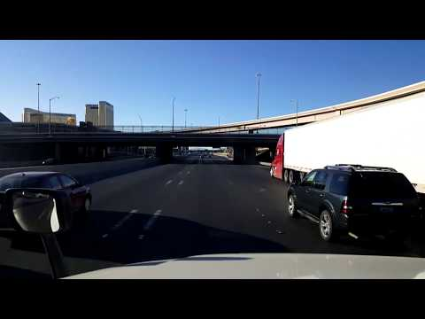 BigRigTravels LIVE! North Las Vegas,  Nevada to Mountain Pass, California I-15 South-Oct. 15, 2017