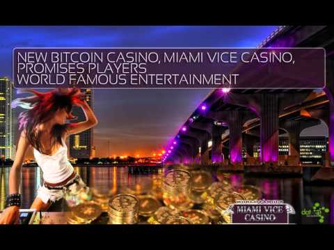 Miami Vice Casino: New Bitcoin Casino Now Open, Featuring 100+ Games And Live Dealers!