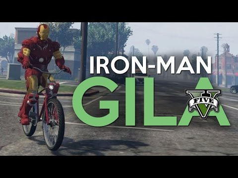 GTA 5 Mod - IRON MAN !! - Momen Lucu GTA