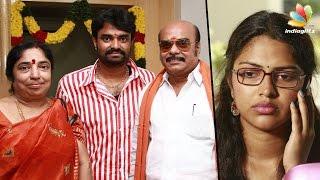 Amala Paul cried hearing AL Vijay Second Marriage news | AL Alagappan
