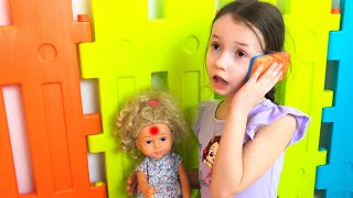 Miss Polly Had a Dolly Song | 동요와 아이 노래  어린이 교육 Ulya Liveshow